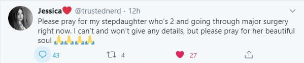 Jonathan Yaniv pedophile July 16 2020 tweet about having a stepdaughter